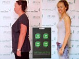 Katie Drew lost a third of her body weight in six months using Pause Button Therapy - a DVD-type remote control device