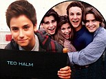 Girl meet brother: Teo Halm on the set of Girl Meets World at Disney Studios