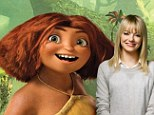Emma Stone in The Croods