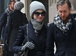 All you need is love! Anne Hathaway and husband Adam Shulman heat up chilly New York with heavy PDA