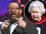 'I wish the Queen had f***ing died!' Frankie Boyle booed after foul-mouthed Comic Relief rant... which is then AXED from broadcast