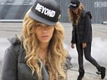 Keeping it real! Beyonce attempts to show she's still got swagger as she oozes attitude in new photos