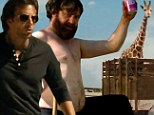 A funeral, a giraffe and a return to Las Vegas: New teaser trailer for The Hangover Part III hits the internet