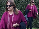 Valerie Harper puts on a brave face as she steps out for the first time since revealing she has terminal brain cancer