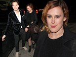 No wonder she's so smitten! Rumer Willis' chivalrous boyfriend Jayson Blair opens her car door as they hold hands after date night
