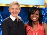 Talk show host Ellen DeGeneres and CoverGirl host a