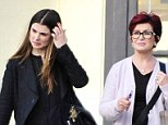 Revamp? Sharon and Aimee Osbourne were shopping in home and furniture stores on Wednesday