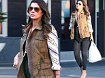 This one's hungry! Pregnant Ali Landry shows off her growing bump as she satisfies food craving with crawfish