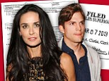 Demi fights back... and wants Moore money: Actress seeks spousal support from Ashton Kutcher in $285m divorce battle