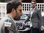 Iced coffee for 'Spencer'? Ben Affleck reveals his Starbucks alias while Jen minds their three children