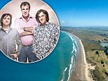 Sacred: An aerial view of Ahipara Beach, part of Ninety Mile Beach, Northland, North Island, New Zealand, where the Top Gear team plan to film