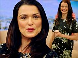 'He's really unimpressed by my career': Rachel Weisz says her six-year-old son is too 'busy building Lego empires' to be impressed by his mum's flying skills in new Oz film