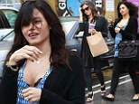Feeling the effects: Pregnant Jenna Dewan-Tatum goes from heels to flats while running errands
