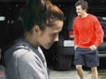 Let's get physical! Orlando Bloom and Minka Kelly work up a sweat at exclusive Beverly Hills gym