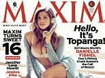 Oh boy! Danielle Fishel wears skimpy lingerie on Maxim cover of as she gears up for Girl Meets World