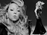 Mariah Carey keeps it simple in slinky black in new video to Oz: The Great And Powerful soundtrack Almost Home