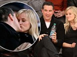 It's good to be home! Reese Witherspoon and hubby Jim Toth kiss and cuddle like two teenagers in love after her recent girls' trip