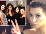 She really is 'fine!' Pregnant Kim Kardashian looks healthier as she shows off her pout in new Instagram pictures