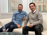 Friends reunited: Ryan Giggs (left) came through the ranks at Manchester United with Gary Neville, winning the FA Youth Cup in 1992, before accruing eight Premier League titles, two European cups, three FA Cups and two League cups