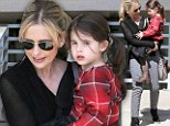 Ready to capture the memorable moments! Sarah Michelle Gellar keeps a camera handy as she spends the day with her daughter Charlotte