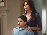 New deal: Rico Rodriguez, who plays Sofia Vergara's character's son Manny in the show, has negotiated a huge new contract to continue starring in the show