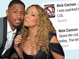 'I shall spank!' Nick Cannon takes to Twitter to rant about being tough on his twins... and declares he's stricter than wife Mariah Carey