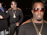 He's got a lot of bottle! Naughty Diddy carries champagne on the street as he parties in Hollywood