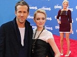 His TWO leading ladies! Ryan Reynolds hugs wife Blake Lively and co-star Emma Stone at The Croods premiere in New York