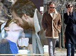 Kiss me quick! Anne Hathaway and husband Adam Shulman pack on the PDA during coffee date