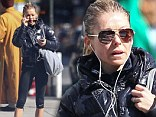 Still fit at 42, Kelly Ripa has the body of a girl half her age as she makes her way to her workout in New York