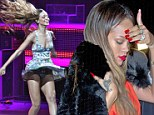 Not getting off to a good start: Rihanna cancels Diamonds World Tour Boston gig after contracting laryngitis