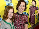 They're the best of drinking buddies! Drinking Buddies co-stars Olivia Wilde and Anna Kendrick look effortlessly chic at SXSW premiere