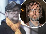 Where did all the glamour go? Boy George shows off his resemblance to Jarvis Cocker as he sports a shabby grey beard