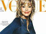 What's Age Got To Do With It? Tina Turner has landed her first ever Vogue cover for the German edition of the magazine - at the age of 73