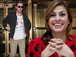 Dotty about Ryan: Eva Mendes choose spots to talk about her new film with boyfriend Ryan Gosling
