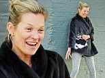 With the winter weather not going anywhere fast, Kate Moss shows she knows how to stay snug in a fabulous fur coat.