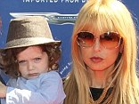 Cool family: Rachel Zoe, Rodger Berman and Skyler at the John Varvatos 10th Annual Stuart House Benefit in West Hollywood, on Sunday