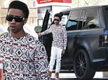 Back in the driving seat! But Justin Bieber 'relegates Lil Twist to Range Rover after he wrecked his $100,000 Fisker Karma'