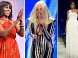 Michelle Obama topped the first Sunday Times Best Dressed list and was praised by the judges for using fashion as a 'force for good'. But it was not such good news for Lady Gaga, who was named Worst Dressed.