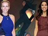 The cheek of it! Chelsea Handler tweets snap of friend Whitney Cummings baring her derrière