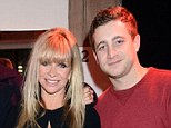Opening up: Jo Wood has revealed that she offered her son Tyrone drugs when he was 16-years-old