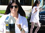 Day to herself: Selma Blair left her son at home for her trip to the shops, and she seemed to enjoy the down time