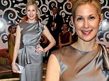 Silver siren! Kelly Rutherford shimmers in flowing satin gown as she attends School of America Ballet Winter Ball