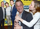 Lovable actor: Tony Danza's cast mates could not keep their hands off him