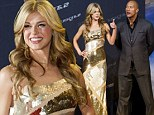 Looking Wonder(Woman)ful! Adrianne Palicki wows in stunning gold dress for G.I. Joe: Retaliation premiere
