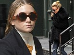 Different strokes: Mary-Kate and Ashley Olsen have different approaches to hair care