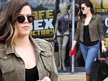 That's one way to spice up your marriage! Khloe Kardashian shops for things naughty and nice at sex store