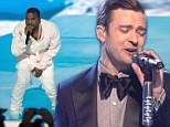 'My hit's so sick got rappers acting dramatic': Justin Timberlake hits back at Kanye West's Suit & Tie diss during live performance on SNL