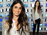 She does sparkle! Twilight star Nikki Reed shines in a silver metallic jacket at her new movie's premiere