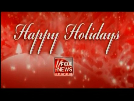 Fox News Happy Holidays